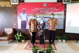 Pelepasan Purna Tugas dr. FX Kuswinarto