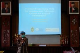 Pelatihan Pendamping (TOT) Tim Sosialisasi dan Pelepasan Nyamuk Ae. Aegypti Berwolbachia