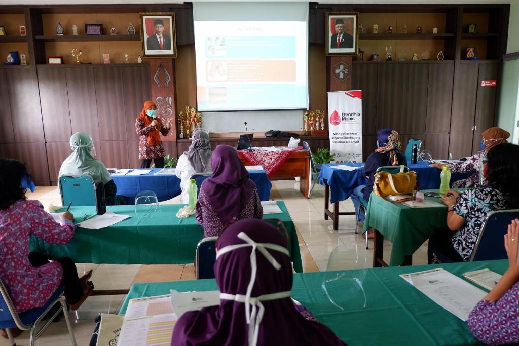Refreshing Kader Posbindu bersama HI (Humanity & Inclusion)