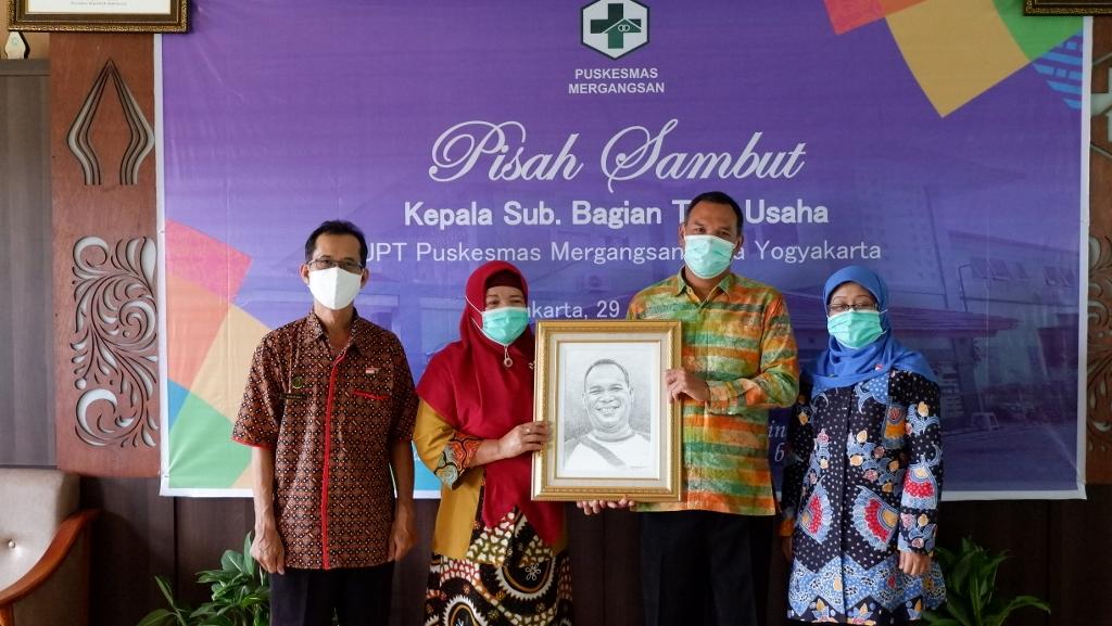 Pisah Sambut Kepala Sub Bagian Tata Usaha UPT Puskesmas Mergangsan Kota Yogyakarta